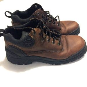 Men's Timberland Brown Boots Size 10